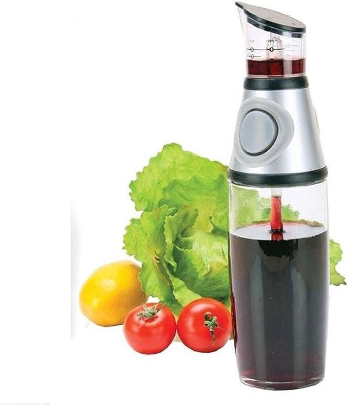 Oil Vinegar Dispenser Bottle Measure Easy Pour Spout Measuring Tool Kitchen New