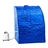 KUPPET Portable Folding Steam Sauna-2L One Person Home Sauna Spa for...