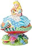 Enesco 4049693 Britto - Alice nel Paese delle Meraviglie, Multicolore