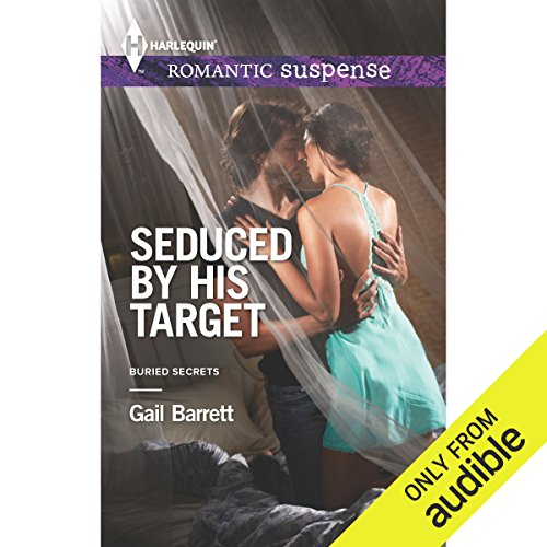 Seduced by His Target audiobook cover art