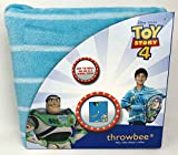 throwbee Disney Pixar Toy Story 4 Buzz Lightyear Blanket