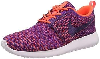 Nike Roshe One Flyknit Women's Sneakers Purple  TTL Crimson/Grnd Prpl-VVD Prpl  3.5 UK  36.5 EU