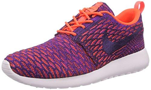 Nike Roshe One Flyknit, Women's Sneakers, Purple (Ttl Crimson/grnd Prpl-vvd Prpl), 3.5 UK (36.5 EU)