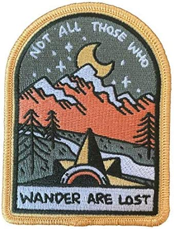 O'Houlihans - Not All Those Who Max Discount mail order 76% OFF Patch are Wander Lost on Iron
