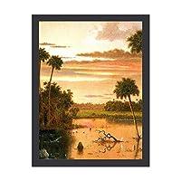 INOV フロリダ 素晴らしい日没 芸 アートパネル 壁掛け アートフレーム 絵画 ウォールインテリア タペストリー おしゃれ モダン リビング ギフト