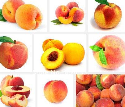 Garden Plant 40PCS / bag Sweet Peach Seeds, Autumn Red Peach Tree Fruit Seeds Bonsai Seed