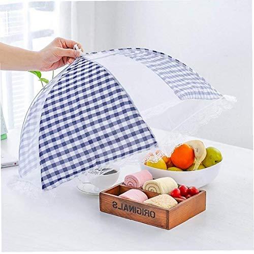 Hotaden Mantener Fuera de Picnic Moscas Pantalla Grande la Cubierta del Acoplamiento de Alimentos Tent Cubiertas Paraguas Protector de la Alimentación Plegables para la Cocina
