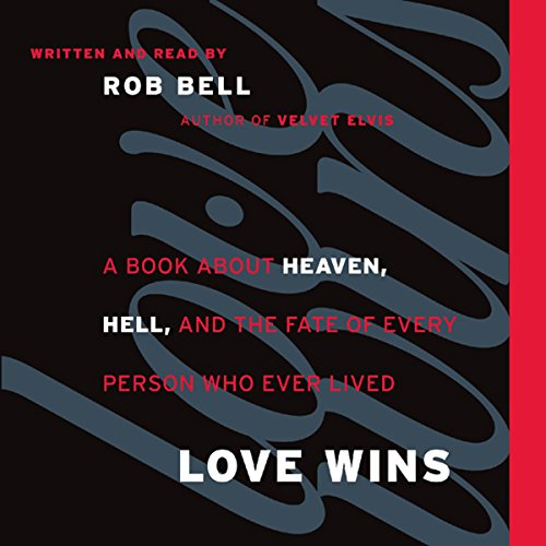 Love Wins     A Book About Heaven, Hell, and the Fate of Every Person Who Ever Lived              Auteur(s):                                                                                                                                 Rob Bell                               Narrateur(s):                                                                                                                                 Rob Bell                      Durée: 3 h et 39 min     14 évaluations     Au global 4,5