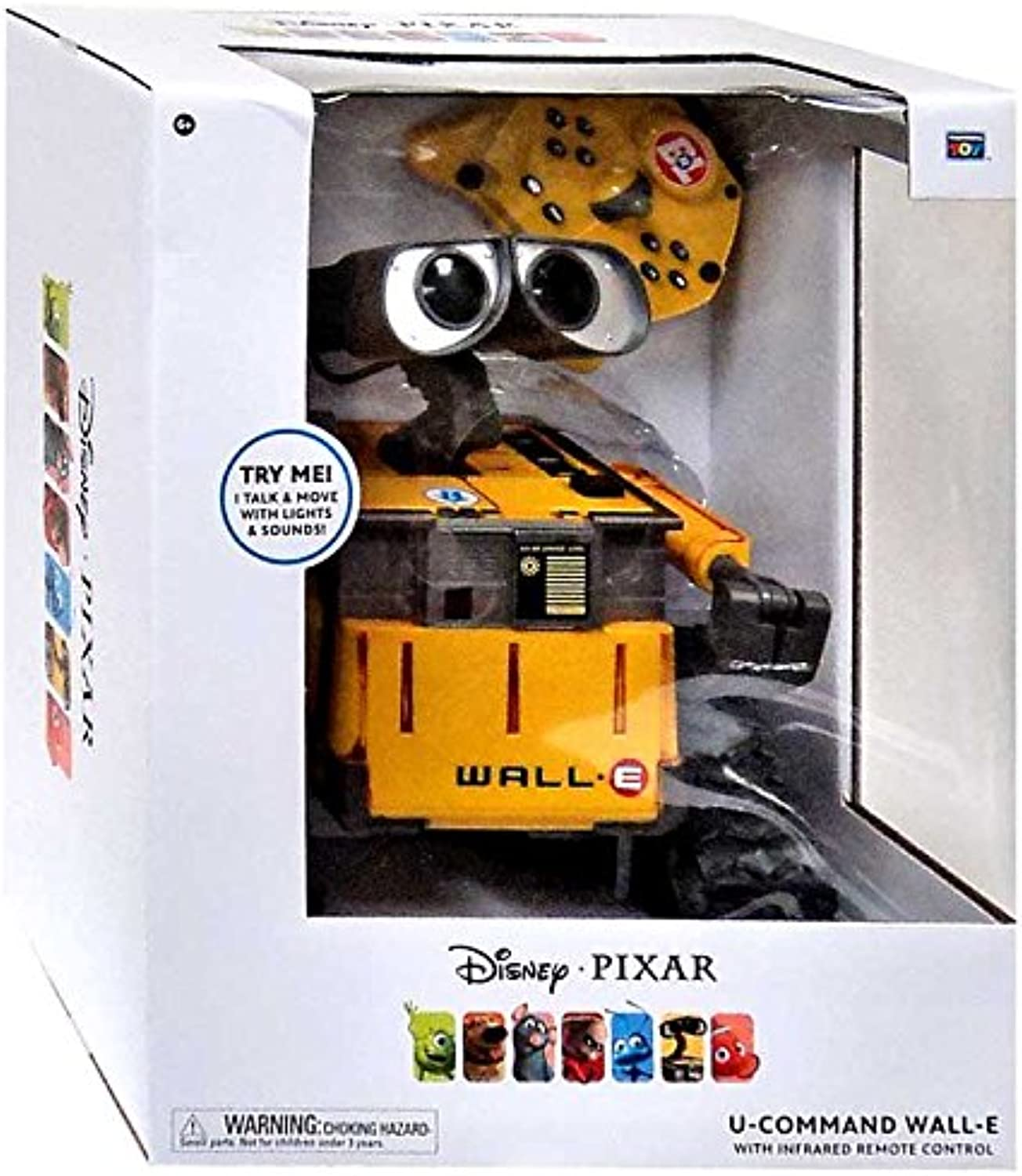 Pixar Collection Disney UCommand WallE Action Figure