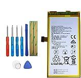 Upplus HB494590EBC - Batería de Repuesto Compatible con Huawei Honor 7 con Kit de Herramientas