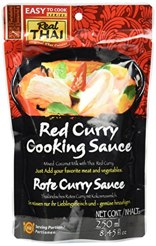 Real Thai Rote Curry Sauce (1 x 250 ml)
