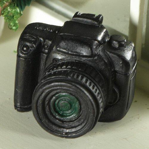 SLR - appareil photo La maison de poupées Emporium noir en plastique