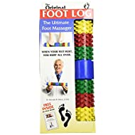 Foot Log, Relieves Foot Pain and Stress in Minutes and Helps with Plantar Fasciitis, Foot Massager (1) Rainbow