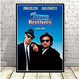 linbindeshoop Leinwand Malerei Blues Brothers Poster