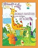 Aprender a leer fácil - Animales fantásticos y sus amigos los números - Iniciación a la lectura en letra MAYÚSCULA y manuscrita: Libro para niños 4 a 6 años - Ebook de colección para aprender a leer