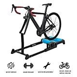 Hammer Bicicleta magnética Turbo Trainer, Bicicletas Rodillos de Plegado Formación Punto de sujeción Trainer, silencioso Ruido Soporte Reducción Bicicleta estacionaria Resistencia