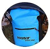 OneCherry Shop 25L Outdoor Waterproof Swimming Bag Backpack Bucket Dry Sack Storage Bag Rafting Sports Kayaking Canoeing Travel Waterproof Bag,Blue,OneSize