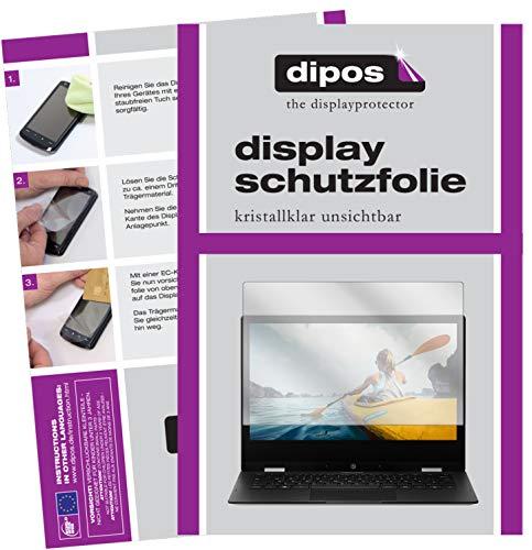 dipos I 2X Schutzfolie klar kompatibel mit Medion Akoya E2294 Folie Bildschirmschutzfolie