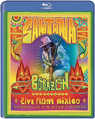 Santana - Corazon - Live From Mexico-Live It To Be [Blu-ray]