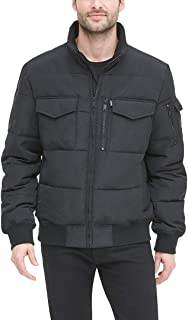 DKNY Men's Quilted Performance Bomber Jacket