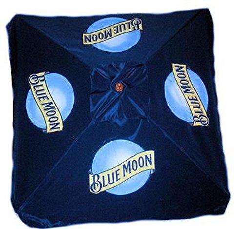 Blue Moon 9 Foot Beer Patio Umbrella Market Style New