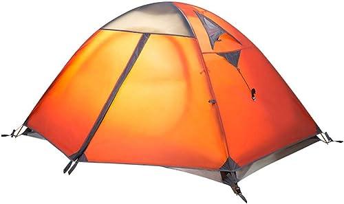 WANGXIAOLIN Tente Camping Double Tente Double en Aluminium Coupe-Vent Et Imperméable à La Pluie