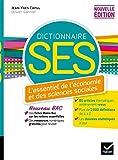 Dico SES - Dictionnaire d'économie et de sciences sociales - Ed. 2020