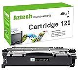 Aztech Compatible Toner Cartridge Replacement for Canon 120 Toner Cartridge 120 for Canon ImageClass D1120 D1150 D1100 D1170 D1180 D1320 D1350 D1370 D1520 D1550 Laser Printers (Black, 1-Pack)