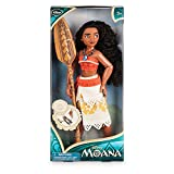 Official Disney Moana 28cm Classic Doll With Foldable Boat