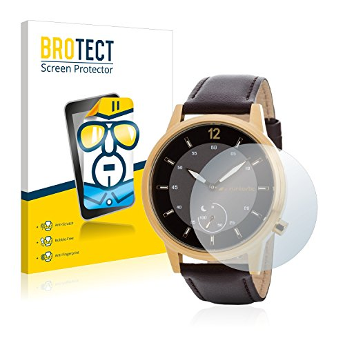 BROTECT Schutzfolie kompatibel mit Runtastic Moment Classic (2 Stück) klare Bildschirmschutz-Folie