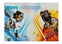 Adventskalender für Kinder mit 24 Schreibwaren Überraschungen, Cooles Star Wars Motiv, ca. 45 x 32 x 3 cm