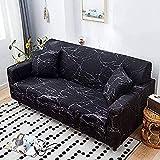 L.TSN Funda de sofá elástica Funda de sofá Estampada Funda de sofá Funda Protectora de Muebles para ...