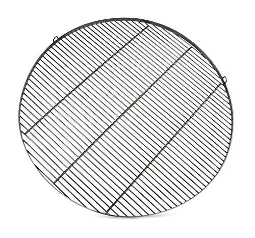 Edelstahl Grillrost RUND mit Gravur nach Wunsch (Ø 100 cm)