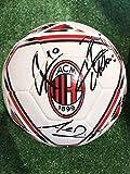 Pallone Bianco Ufficiale Autografato Firmato Giocatori A.C. Milan 2020/2021
