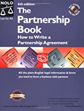 Best the partnership book: how to write a partnership agreement Reviews