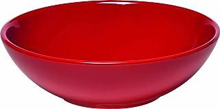 """Emile Henry Made In France Salad Bowl, 11"""", Burgundy Red"""