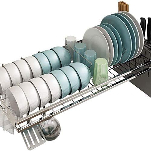 WALNUTA Drenaje Rack - Diseño Moderno for la Cocina, Cuencos, Platos de Almacenamiento y Otros Utensilios de Cocina