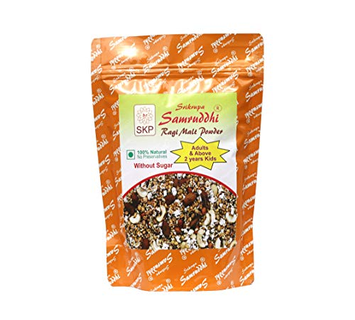 Samruddhi Ragi Malt Without Sugar-500 Grams