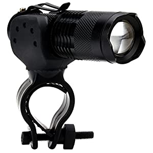 NowAdvisor Mini 7W 300LM CREE lampe de poche LED Mise au point réglable Zoom Light Lamp de NowAdvisor