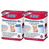 SOS Dornwarzen-Ex, zur schonenden Entfernung von Dornwarzen am Fuß, Lösung mit Salicylsäure und...