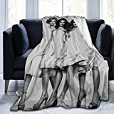 Sex and The City Throw Blankets Ultra Soft Micro Fleece Blanket Plush Lightweight Dual Sided Decorative Couch, Sofa,Travel,Lap,Bed Throw Blanket 60'x50'