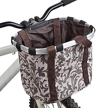 Dihoo Panier de Transport Pliable pour vélo avec Cadre en Alliage d'aluminium