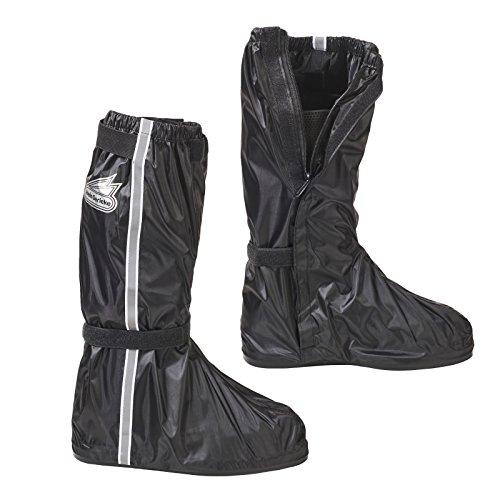 Hein Gericke Regenstiefel schwarz L - Motorrad Regenbekleidung