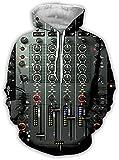 YGQersh Sudadera con capucha para hombre y hombre, manga larga, con estampado 3D, con capucha, con capucha, con bolsos, con capucha, para hombres, mujeres, H_M