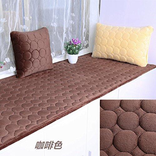Plush Bay Window mat,Bay Window sill pad Modern Bench mat Sofa mat Rug Bay Window Cushion Non-Slip mat Floor Tatami -K 40x200cm(16x79inch)