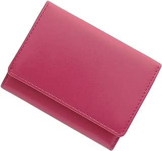 極小財布 スムース ベーシック型小銭入れ BECKER(ベッカー)日本製 ミニ財布/三つ折り
