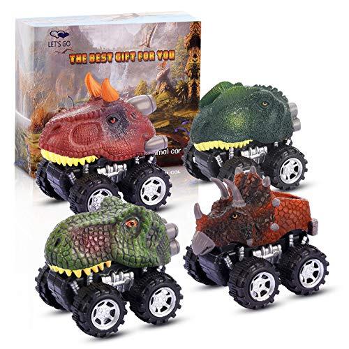 ATOPDREAM Spielzeug für Jungen 2-8 Jahre, Weihnachts Geschenke für Kinder 2-8 Jahre Dinosaurier Spielzeug Auto Geschenke Jungen 2-8 Jahre Geburtstagsgeschenke für Kinder Spielzeug Junge 2 Jahre