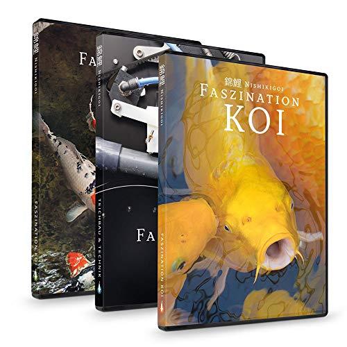 Faszination Koi   DVD BOX (Teil 1-3) - Koi Ratgeber Film