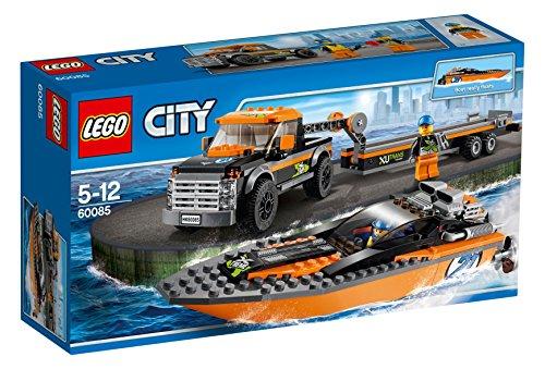LEGO City 60085 - Allradfahrzeug mit Powerboot