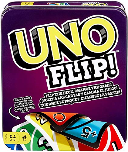 DARK DIAMOND® - Juego de Cartas UNO Flip Doble Cara. Edición Especial...